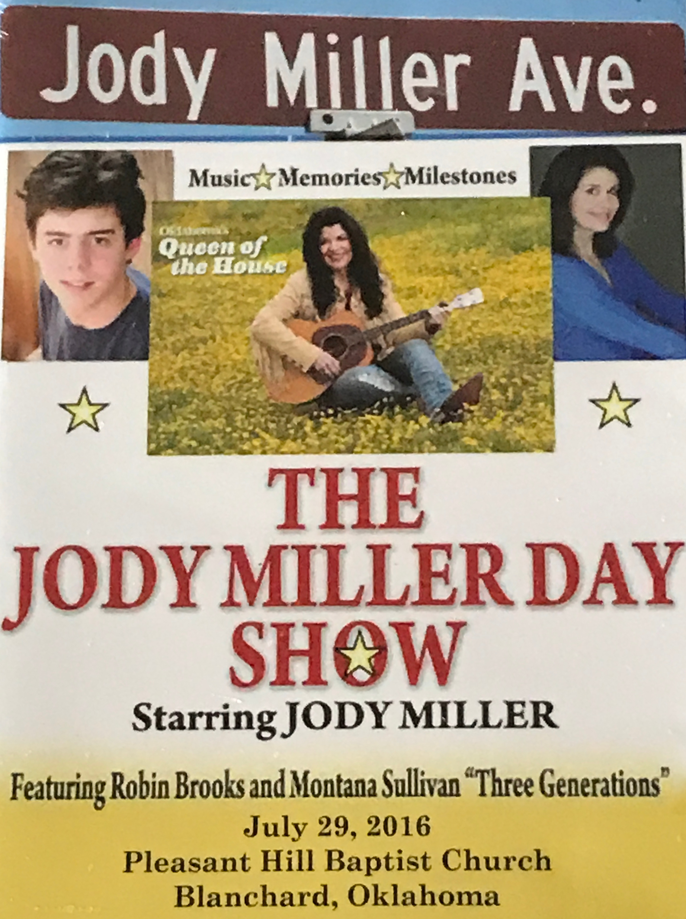 Jody Miller Day DVD